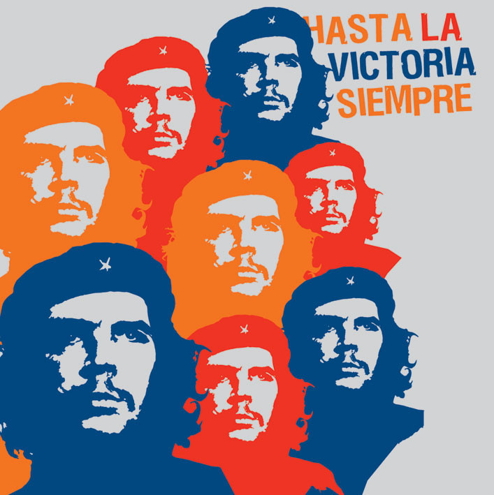 CHE GUEVARA - hasta Sticker
