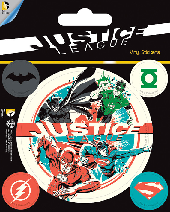 DC Comics - Justice League Sticker