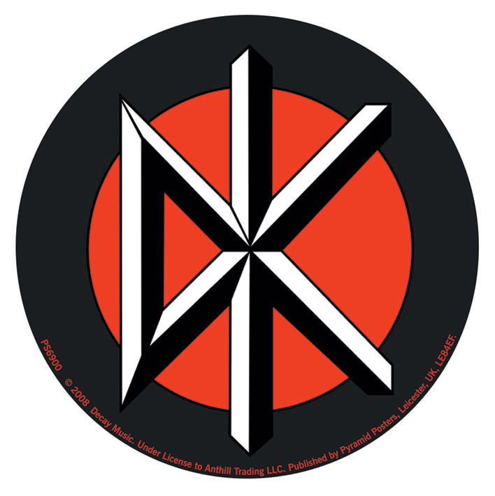 Dead Kennedys Logo Sticker Sold At Abposters Com