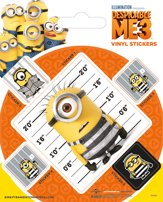 Despicable Me 3 - Breakout Sticker