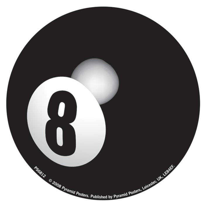 EIGHT BALL Sticker