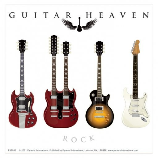 Guitar Heaven Classic Sticker Sold At Europosters