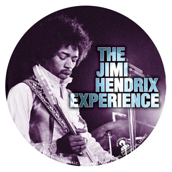JIMI HENDRIX - experience Sticker