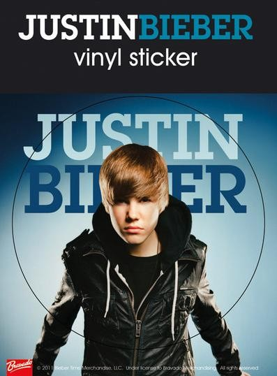 JUSTIN BIEBER - jacket Sticker