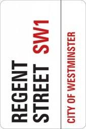 LONDON - regent street Sticker