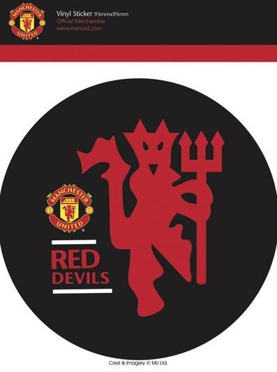 MAN UNITED - red devils Sticker