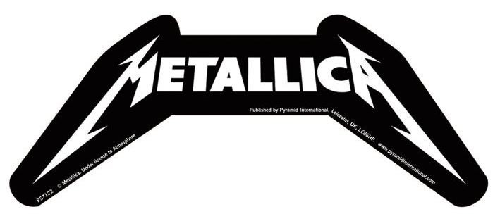 METALLICA – logo  Sticker