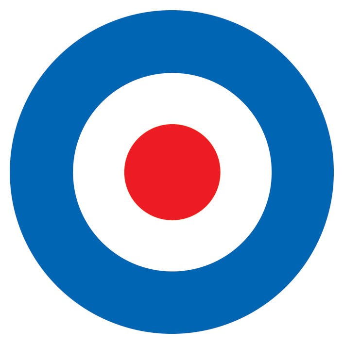 Mod Target Sticker Sold At Europosters