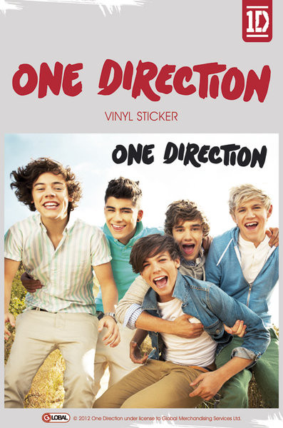One Direction Album Sticker Sold At Europosters
