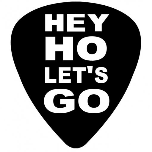 RAMONES - hey ho Sticker