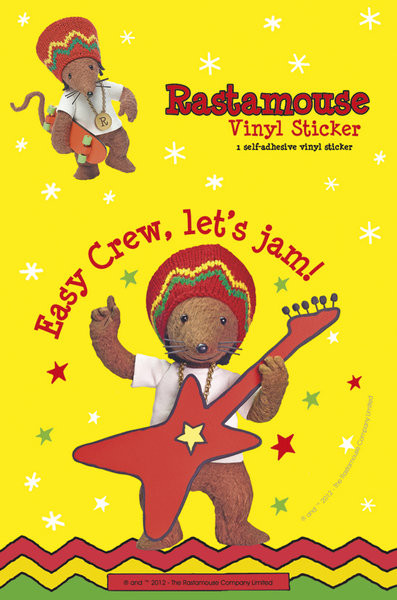 RASTAMAUSE - jam Sticker