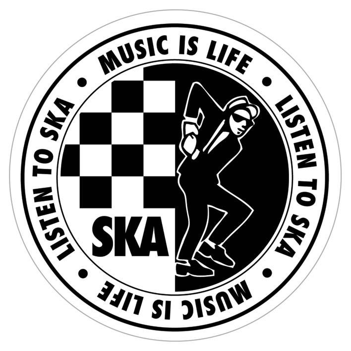 ska listen to ska sticker sold at europosters