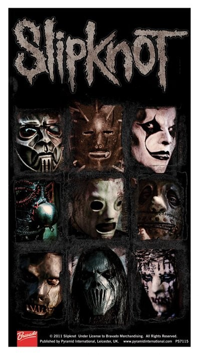 Slipknot Sticker Sold At Europosters