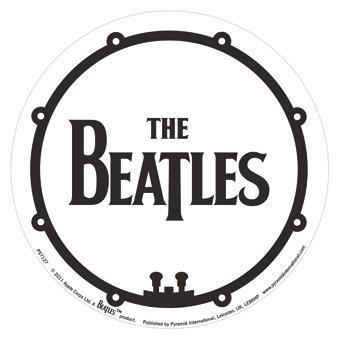 THE BEATLES Bass Drum Sticker