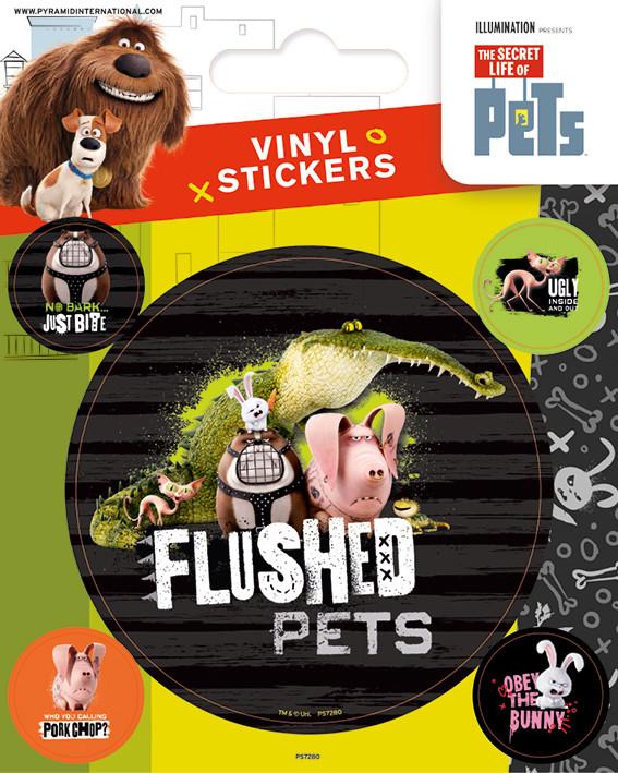 The Secret Life of Pets - Flushed Pets Sticker