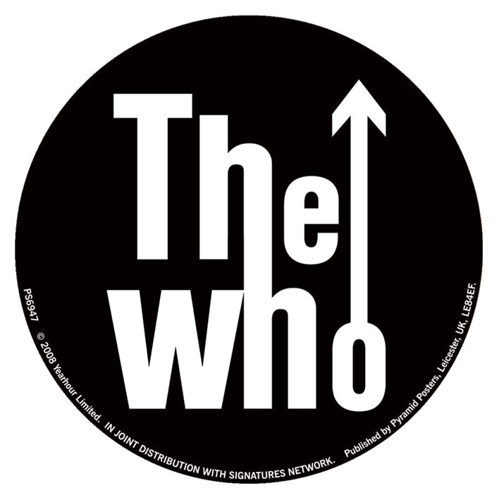 The Who Classic Logo Sticker Sold At Europosters