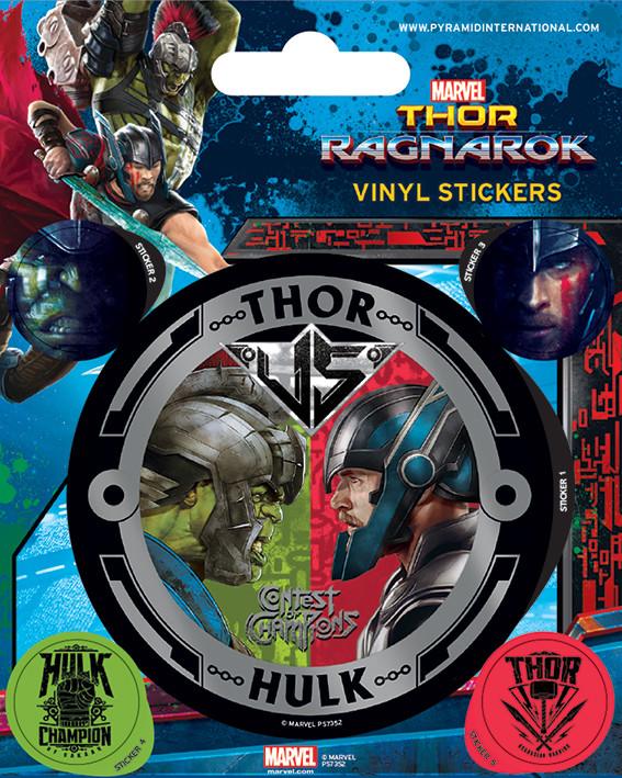 Thor Ragnarok - Thor vs Hulk Sticker