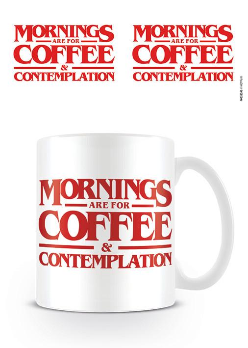 Mug Stranger Things - Coffee and Contemplation