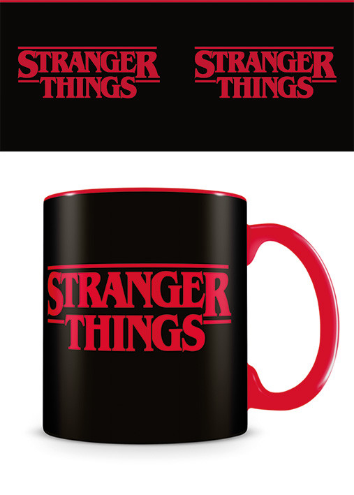 Mug Stranger Things - Logo