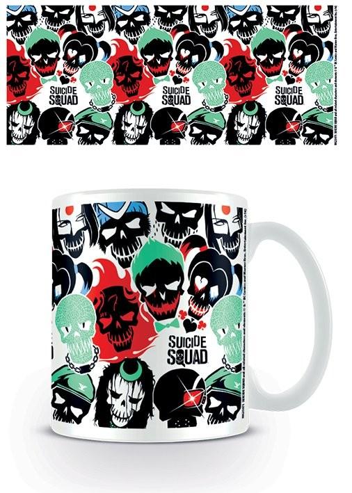 Cup Suicide Squad - Skulls Mono