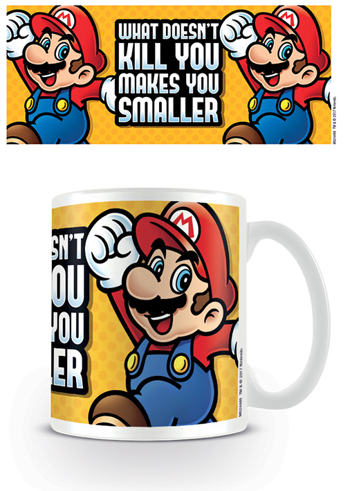 Cup Super Mario - Makes You Smaller