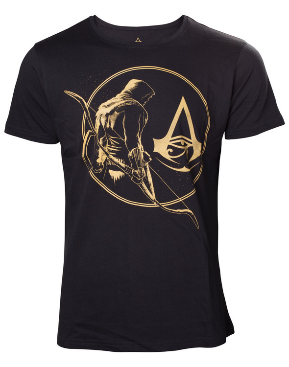 Assassin's Creed - Golden Bayek & Crest T-Shirt