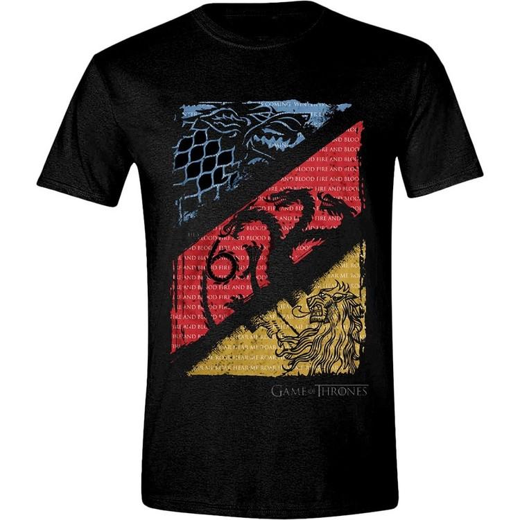 Game of Thrones - Diagonal Sigils T-Shirt