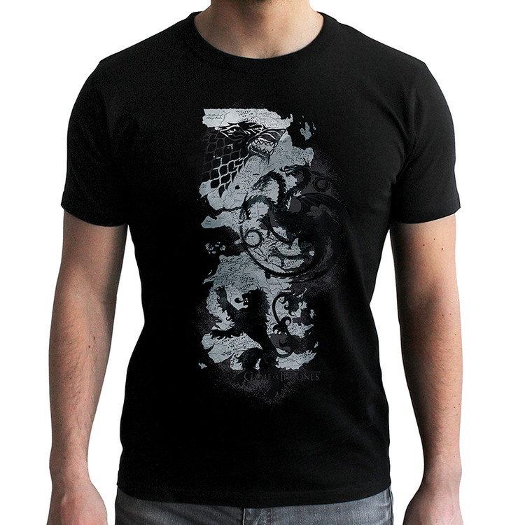 Game Of Thrones - Map T-Shirt