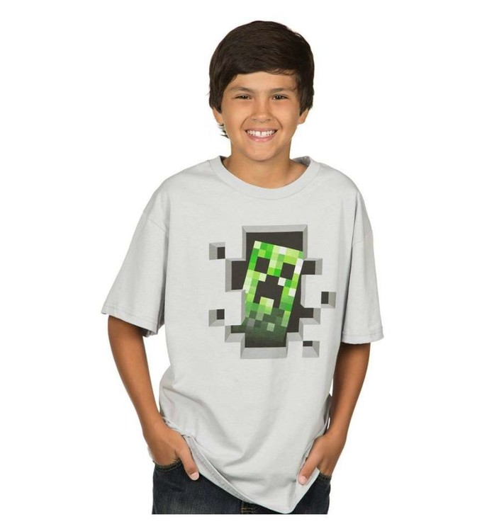 Minecraft - Creeper Inside T-Shirt