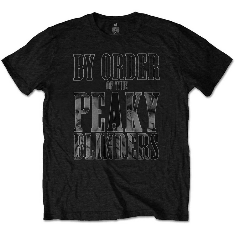 Peaky Blinders - By Order Infill T-Shirt