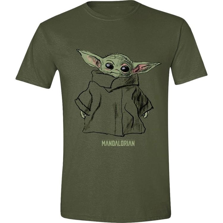 Star Wars: The Mandalorian - The Child Sketch T-Shirt