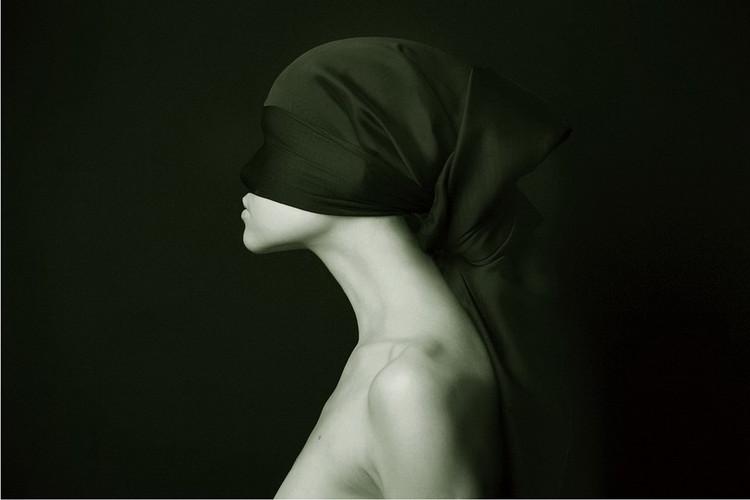 Tableau sur verre Art Woman - Silhouette &W
