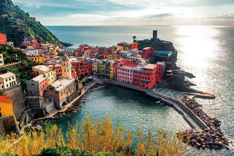 Tableau sur verre Italy - La Spezia
