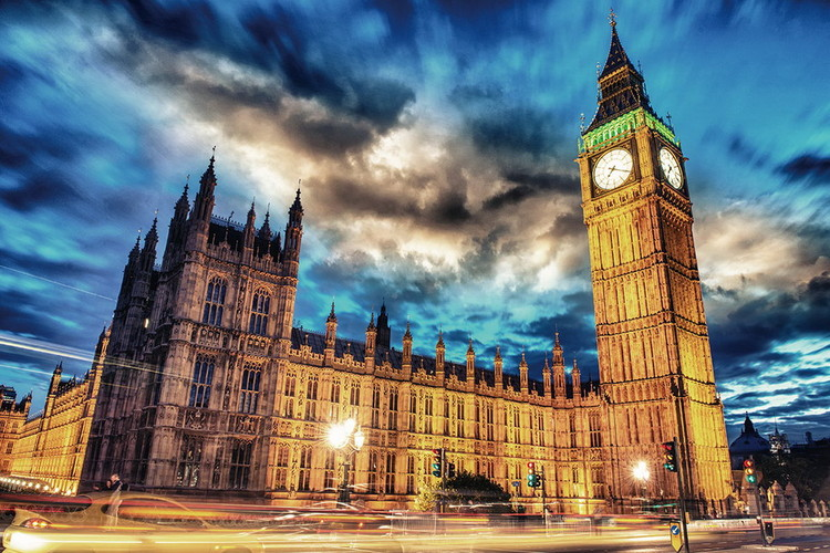 Tableau sur verre London - Big Ben