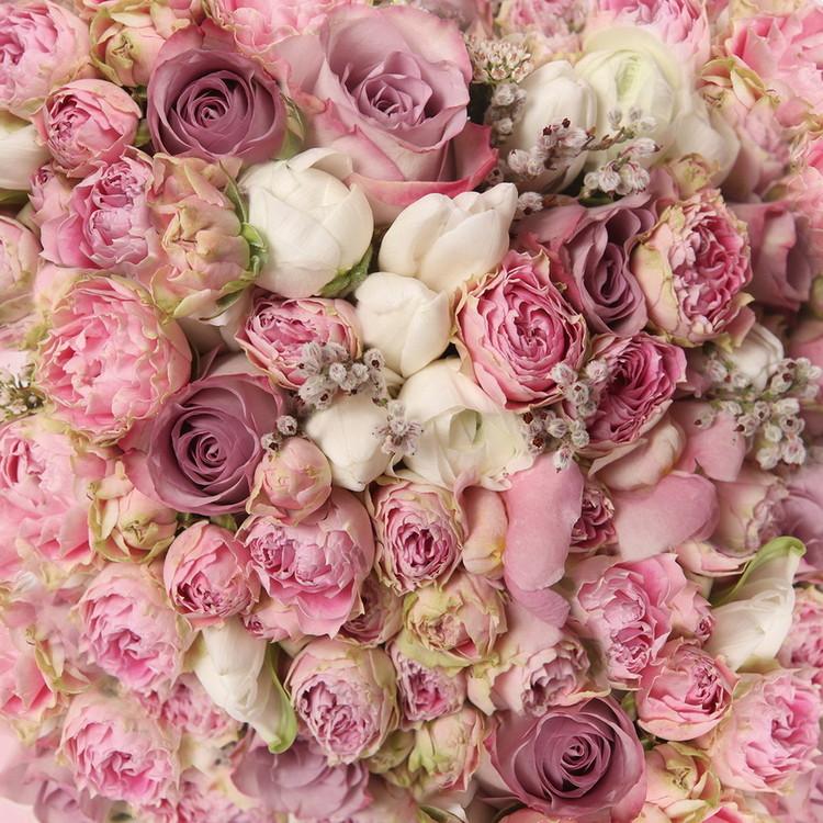 Tableau sur verre Romantic Roses 1