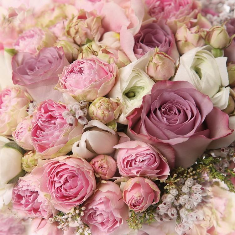 Tableau sur verre Romantic Roses 2