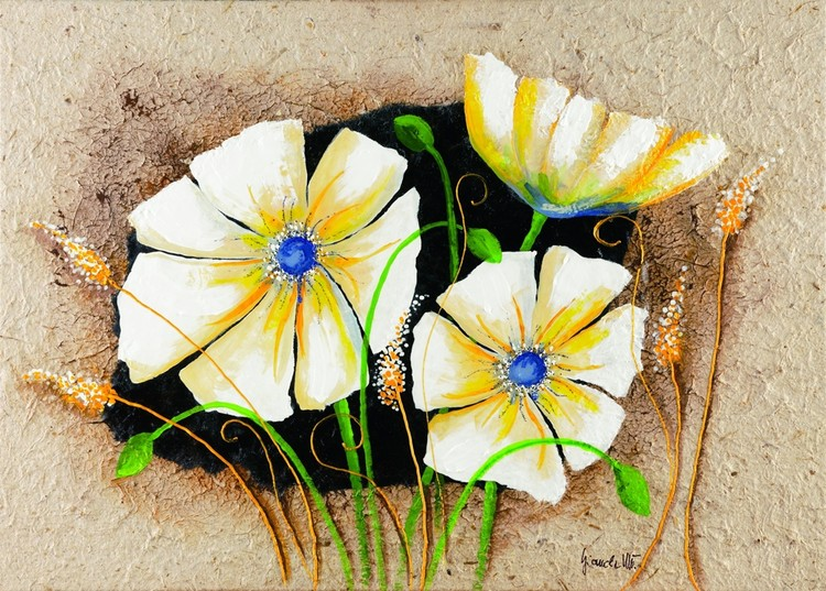 Anemone in frame Taidejuliste