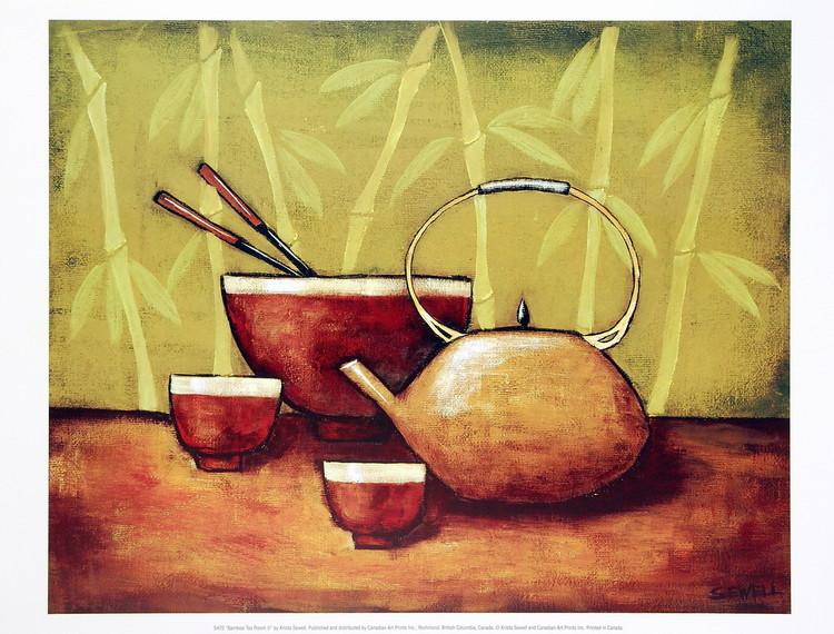 Bamboo Tea Room II Taidejuliste