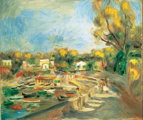 Cagnes Landscape, 1910 - Cagnes Countryside  Taide
