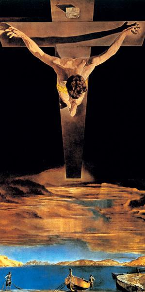 Christ of Saint John of the Cross, 1951 Taidejuliste