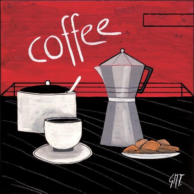 Coffee Taidejuliste