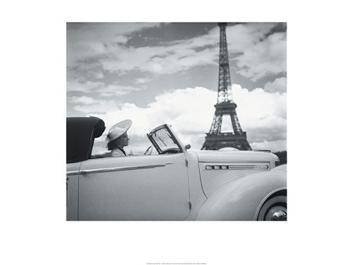 Femme au Volant Paris  Taide