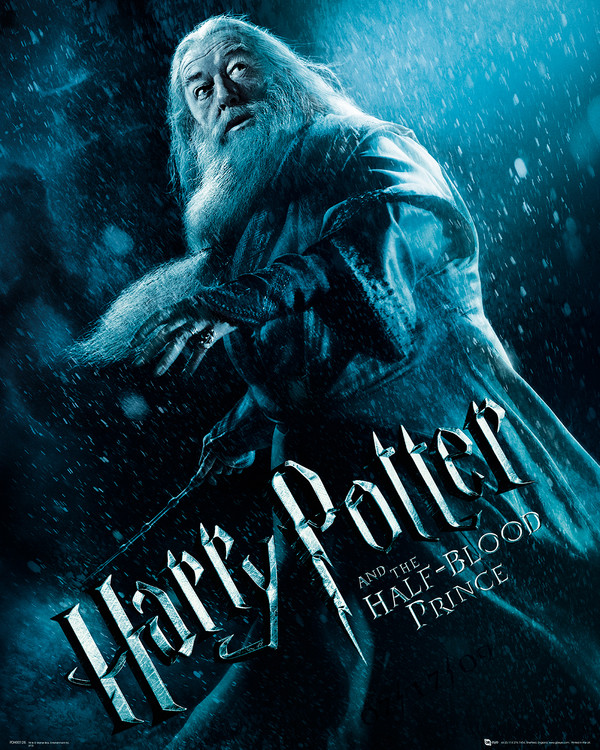 Harry Potter ja puoliverinen prinssi - Albus Dumbledore Action Taide