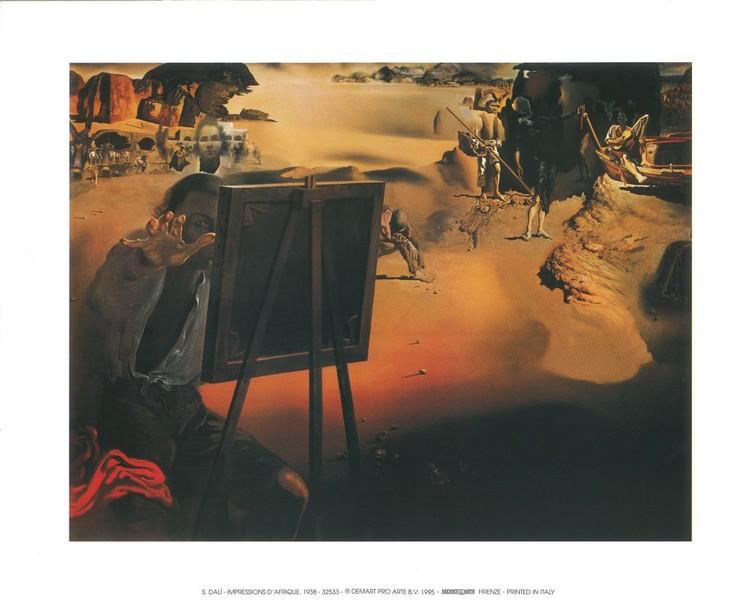 Impression of Africa, 1938 Taidejuliste