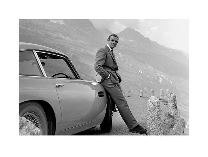 James Bond 007 - Aston Martin Taidejuliste