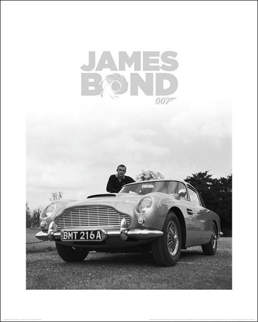 James Bond - Shean Connery Taidejuliste