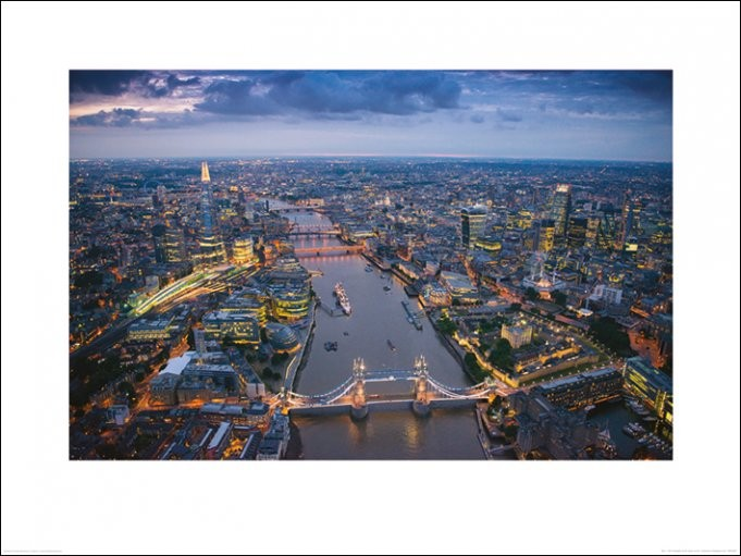 Lontoo - Jason Hawkes Taide