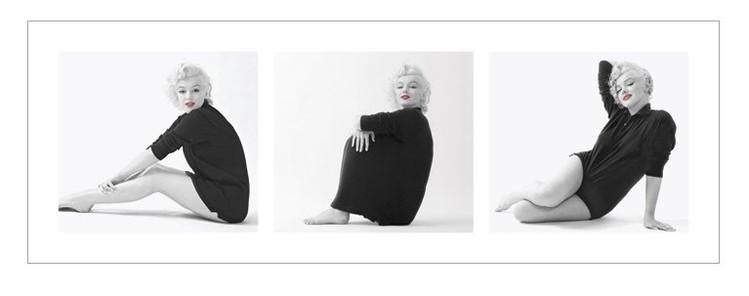 Marilyn Monroe - Sweater Triptych Taidejuliste