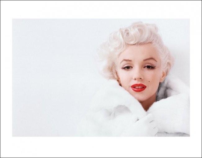 Marilyn Monroe - White Taidejuliste