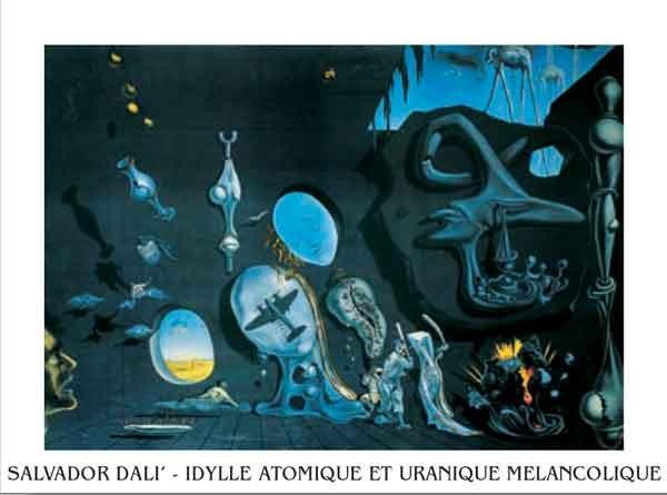 Melancholy: Atomic Uranic Idyll, 1945 Taidejuliste